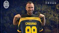 Cassano Putuskan Pensiun….Langsung Comeback Beberapa Jam Berselang