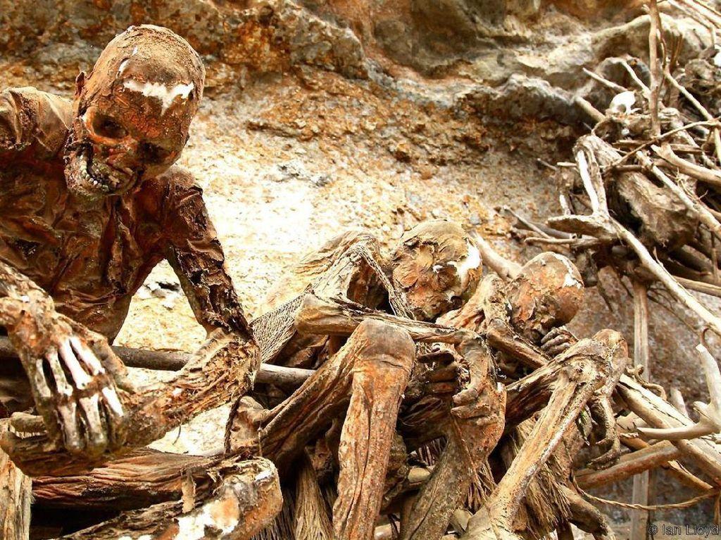 Foto: Berani Lihat Mumi Papua Nugini?