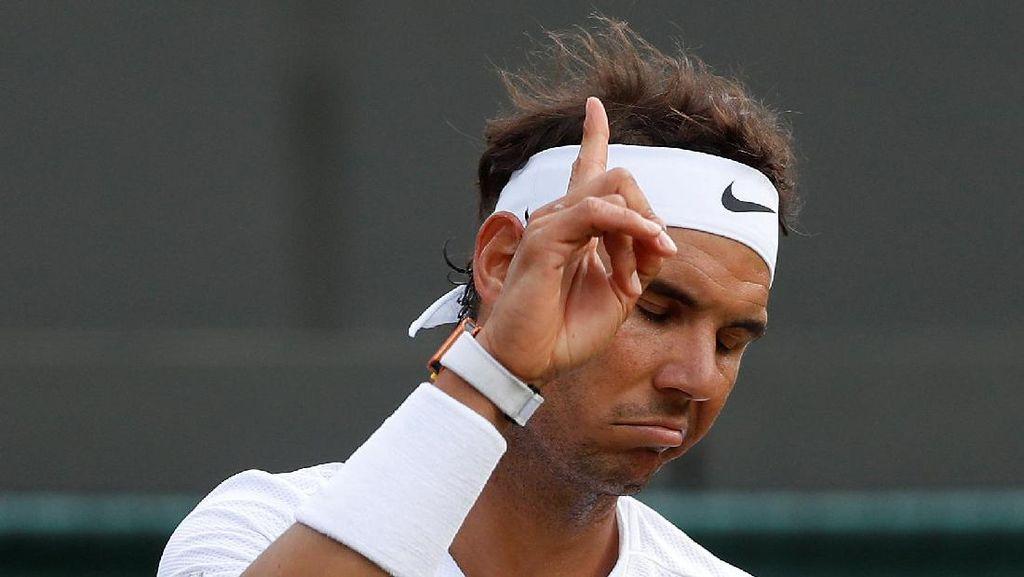 Sebelum Tersingkir dari Wimbledon, Nadal Kejedot Dulu