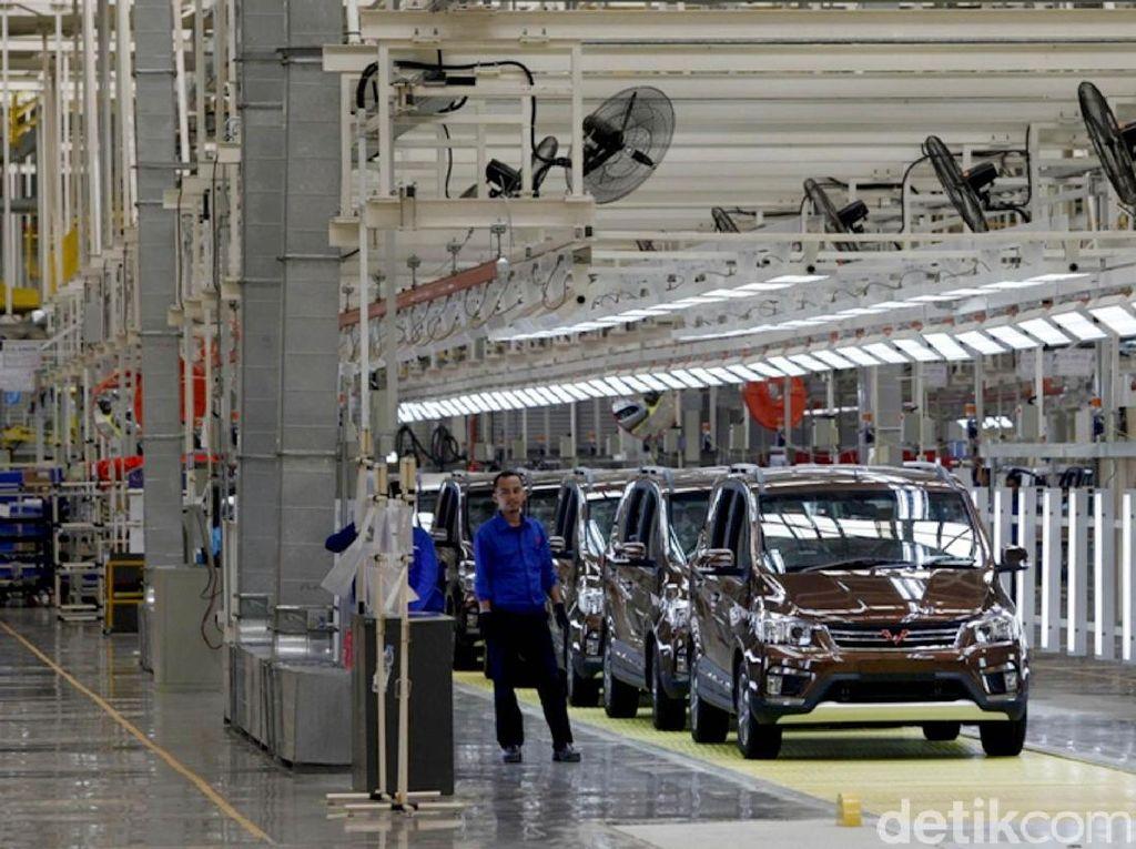 Mengintip Pabrik Mobil China Wuling di Cikarang