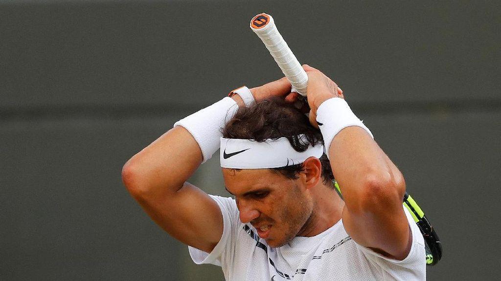Nadal Tersingkir Usai Tarung Lima Set Selama Nyaris Lima Jam