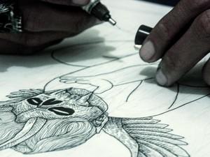 Ilustrasi <i>Dark Art</i> Radwork Terinspirasi dari Musik Metal