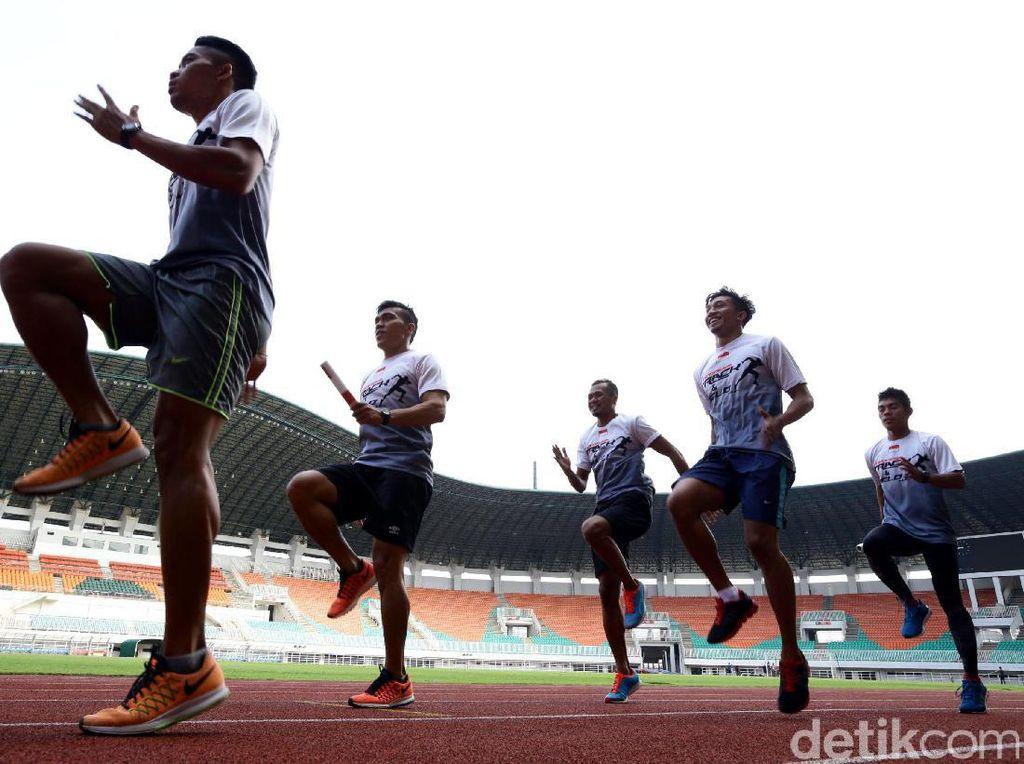 Tanpa Zohri, Tim Estafet 4x100 M Putra Terhenti di Penyisihan