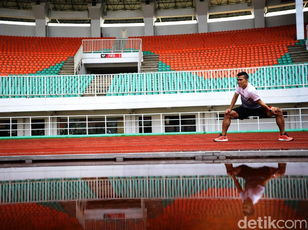 Yaspi Boby Tertantang Buktikan Dirinya Pantas di Timnas Estafet 4x100 Putra