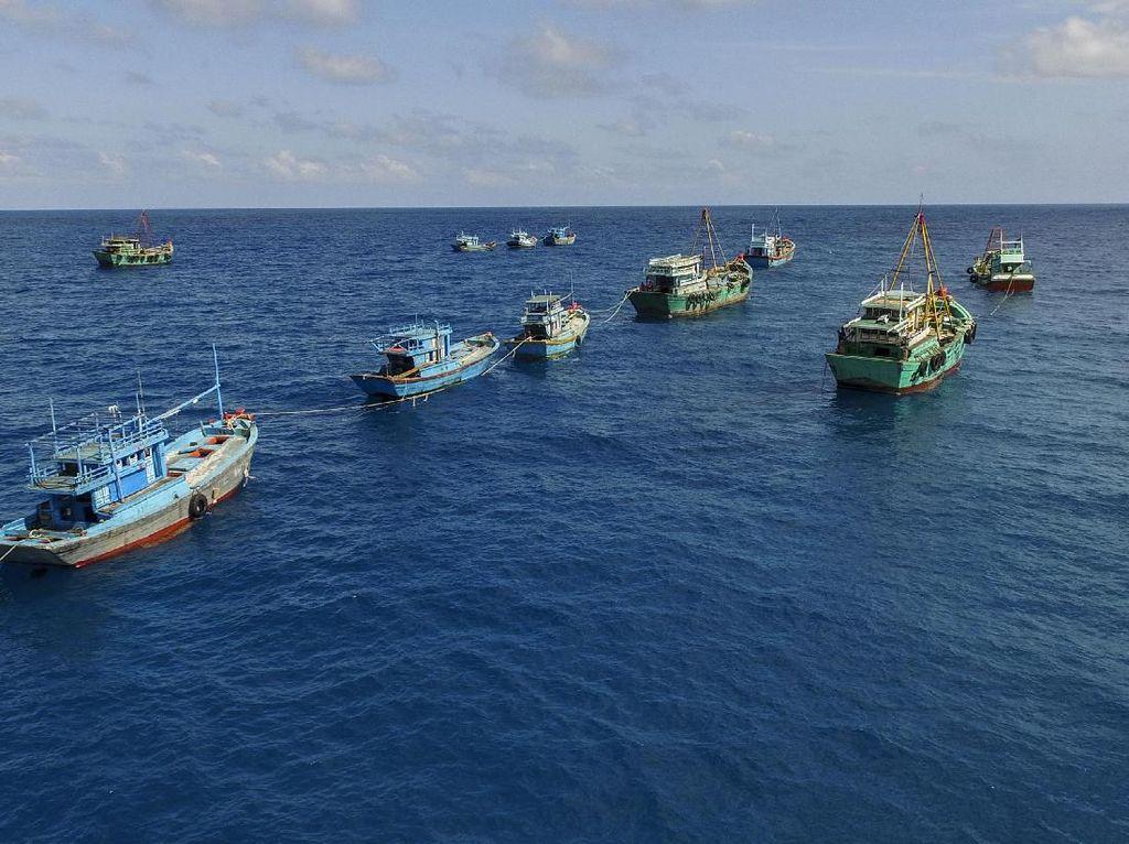 Pemerintah Awasi Kapal Asing yang Wara-Wiri di Laut RI