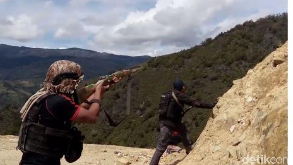 Polisi Terlibat Baku Tembak dengan Kelompok Bersenjata di Papua