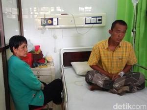 Dua Dokter Bedah di Jember akan Angkat Benda Tajam di Perut Hendro