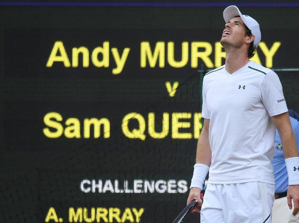 Murray Dijegal Querrey di Perempatfinal