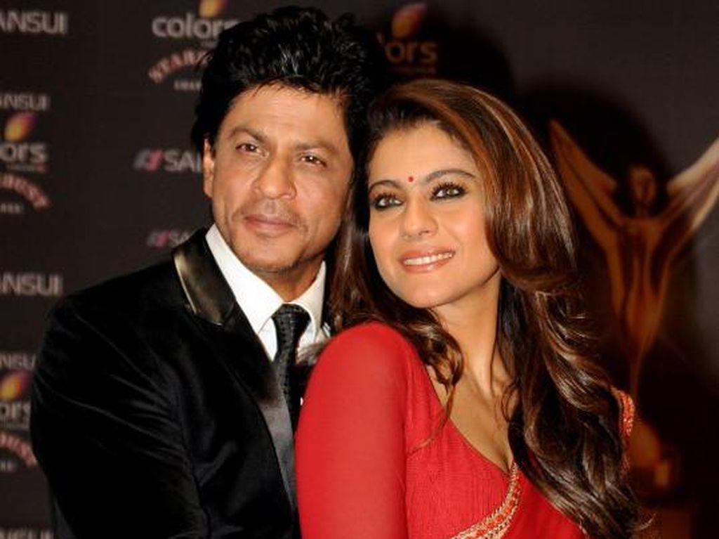 Mesra di Film, Shah Rukh Khan Ternyata Pernah Ilfeel pada Kajol