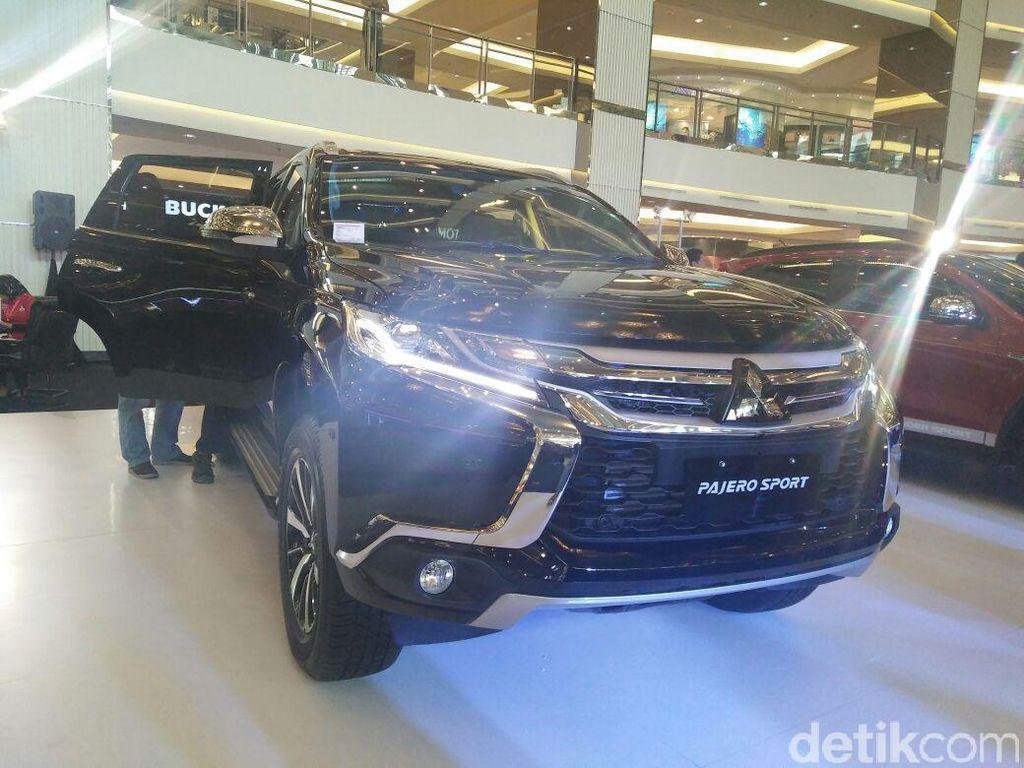 Mitsubishi Utamakan Fitur Keamanan di 2 Tipe Pajero Sport Anyar