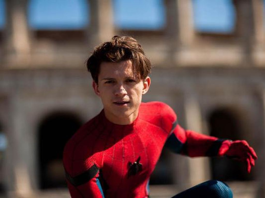 Main Film Baru, Tom Holland Lupa Akting Jadi Spider-Man