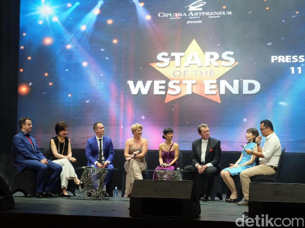 Empat Bintang Panggung West End Siap Pentas Esok Malam