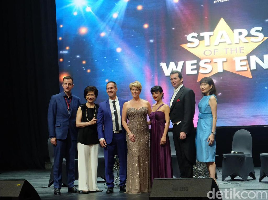 Tiket Pentas Stars of the West End Sudah Terjual 50 Persen