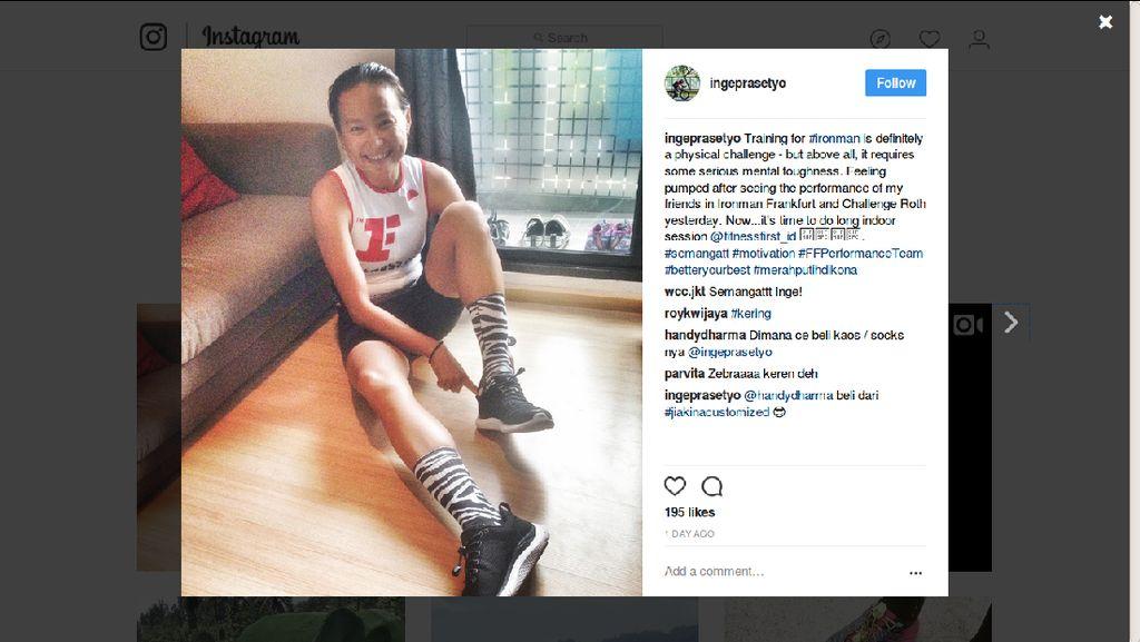 Inge Prasetyo, Pegiat Olahraga yang Akrab dengan Kanker Payudara