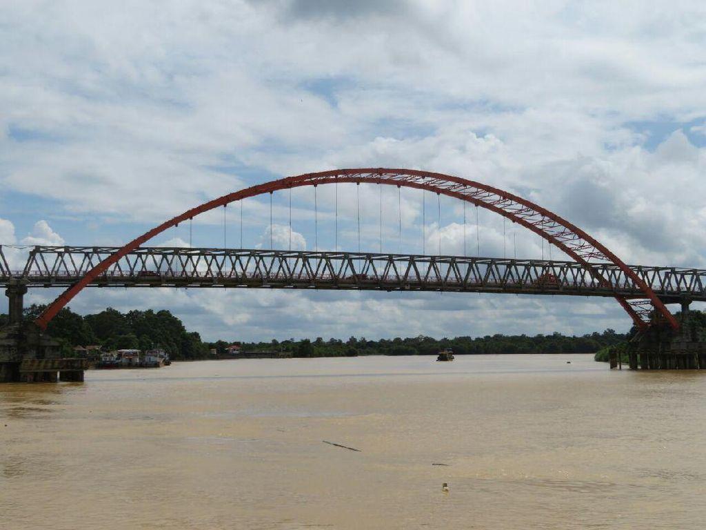 Punya Belasan Sungai Besar, Sumber Air di Palangka Raya Berlimpah