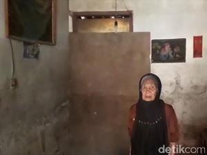 Emak Pikun Sebatang Kara Huni Rumah Butut di Dayeuhkolot Bandung