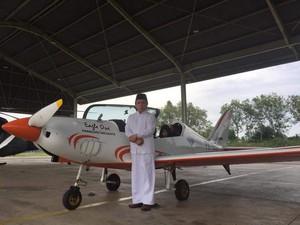 Jadi Pilot di Usia Tua, Gubernur Aceh Ingin Motivasi Generasi Muda