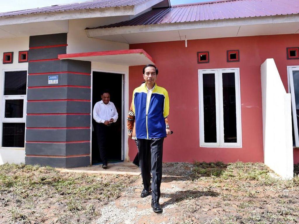 Bukan DP Rp 0, Ini Cara Jokowi Agar Masyarakat Mudah Punya Rumah