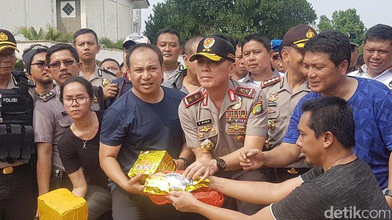 Perjalanan 1 Ton Sabu Asal China yang Digagalkan Polisi di Anyer