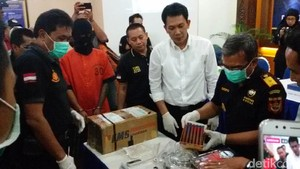 Bea Cukai Yogyakarta Gagalkan Pengiriman Sabu dari Nigeria