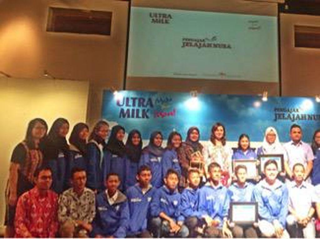 Ultra Milk Ajak Anak Muda Beraksi Positif untuk Dunia Pendidikan