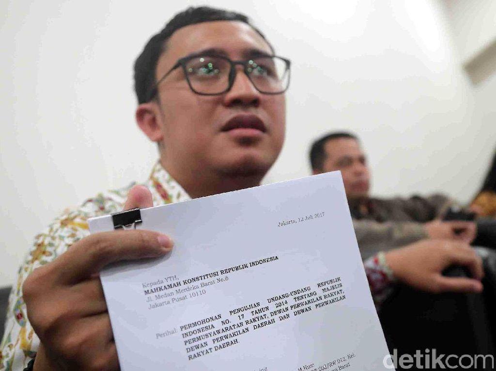 Pegawai KPK Ajukan Uji Materi Soal Keabsahan Pansus Angket ke MK