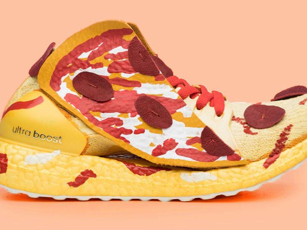 Yumm! Adidas Rilis Sneakers yang Bentuknya Mirip Pizza