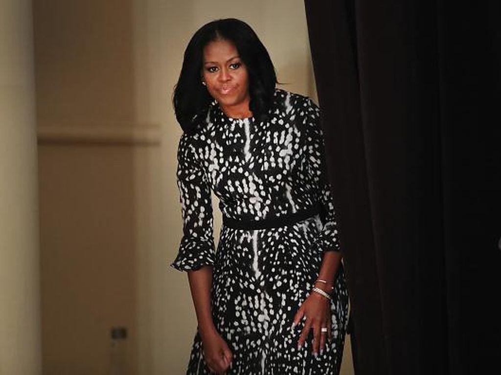 Meski Suka Makanan Sehat, Michelle Obama Tak Suka Sayuran Ini