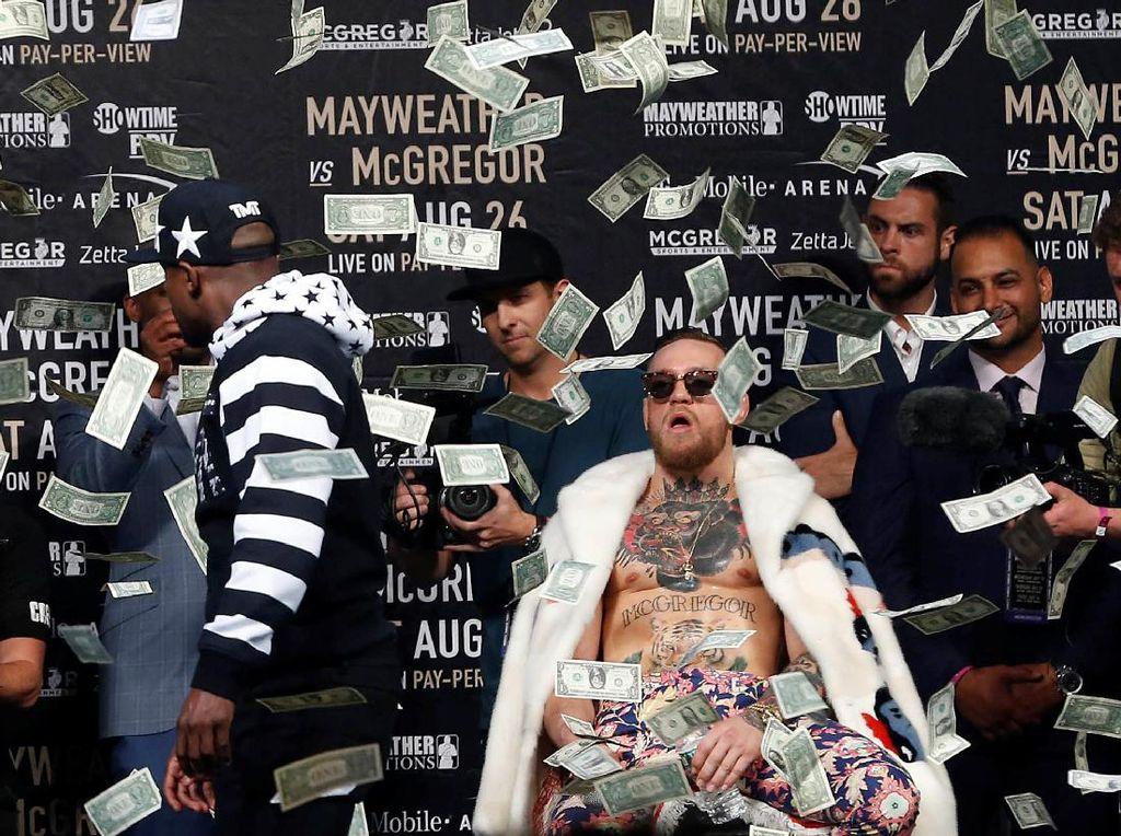 Selama Bertanding di UFC, Conor McGregor Dapat Duit Segini