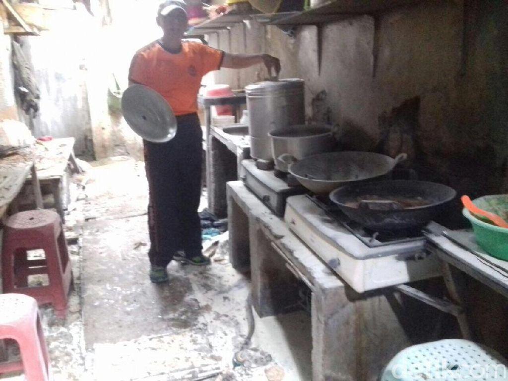 Tabung Gas Elpiji Melon Meledak, Satu Orang Alami Luka Bakar