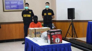 Penyelundupan Sabu di Dalam Eyeliner Asal Nigeria Terungkap