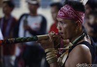 Ilustrasi Gawai Dayak (Rachman Haryanto/detikTravel)
