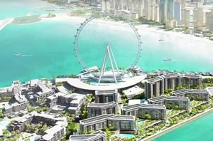 Bianglala Terbesar Sedunia di Dubai Sudah Hampir Jadi