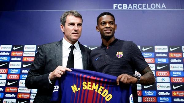 Transfer Tuntas, Nelson Semedo Sebut Barca Selalu Jadi Pilihan Pertamanya