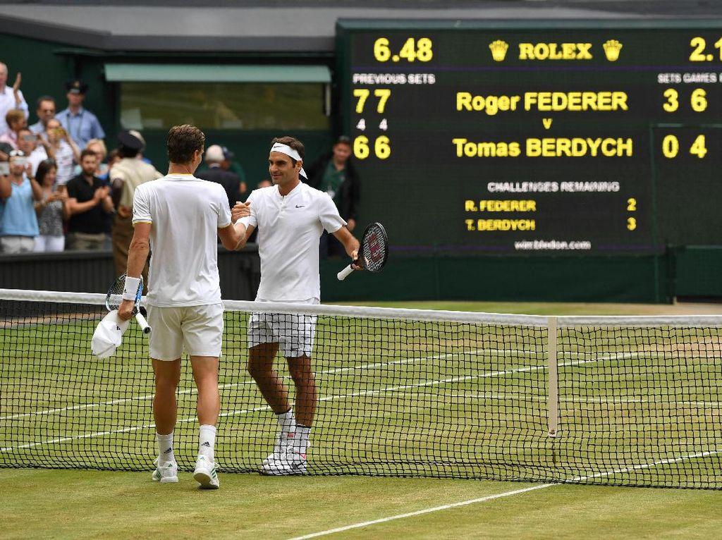 Federer Hadapi Cilic di Final