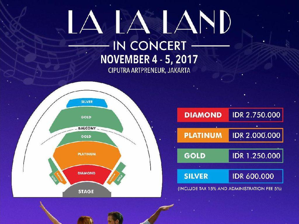 Libatkan 100 Musisi, Konser La La Land Jakarta Digelar Besok!