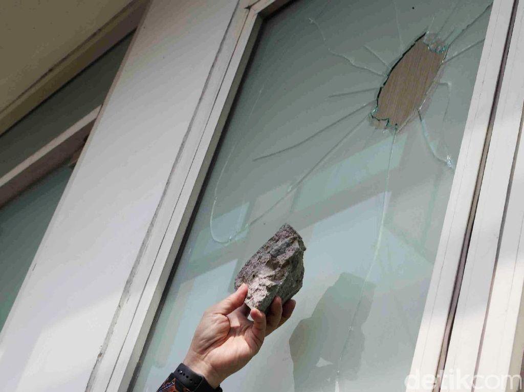 Penampakan kantor DPP PPP yang Dirusak Penggeruduk