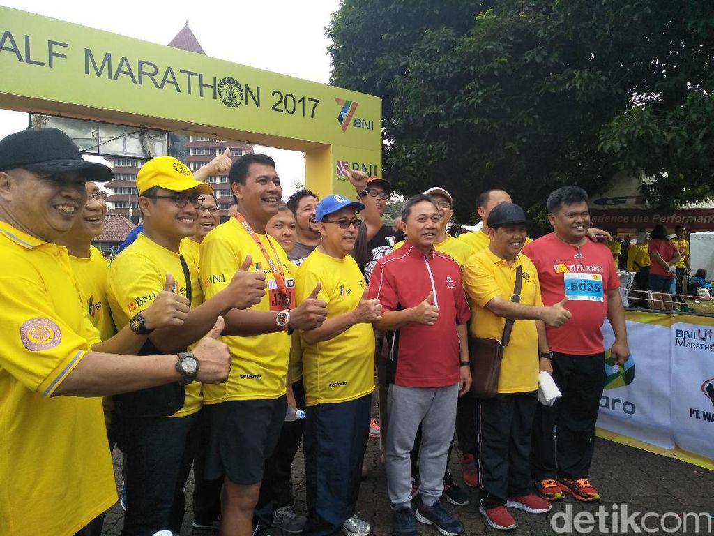 Buka Acara Half Marathon, Zulkifli Hasan: Supaya Masyarakat Sehat