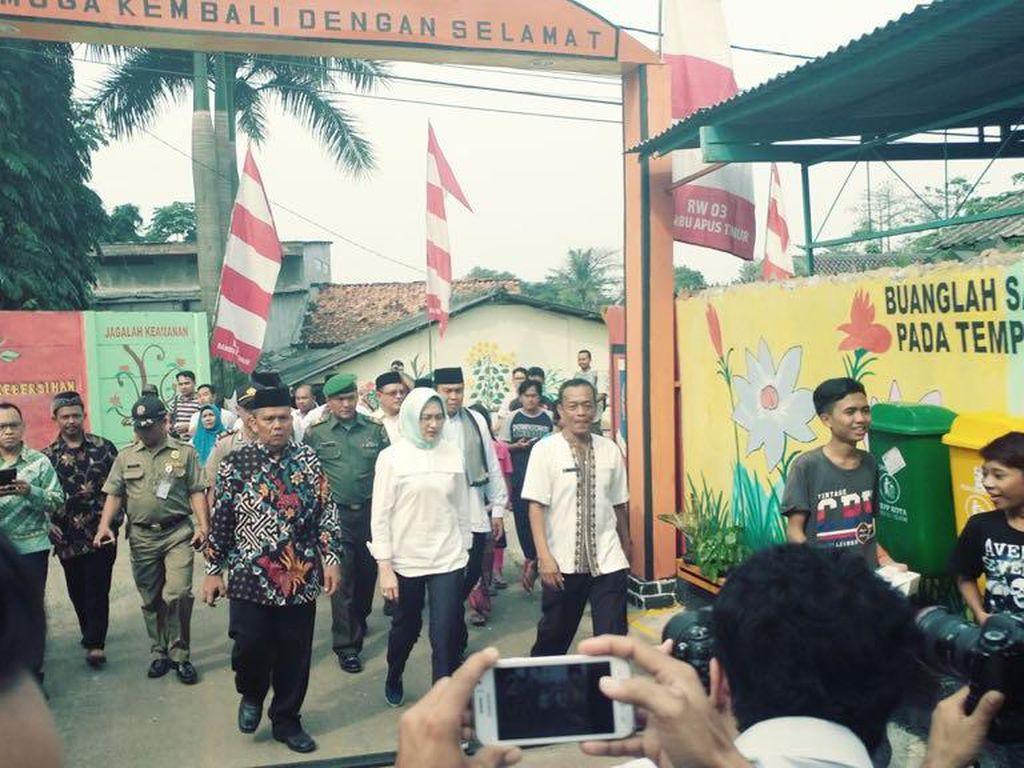 Kecamatan-kecamatan di Tangerang Selatan Berlomba Bikin Gang Cantik