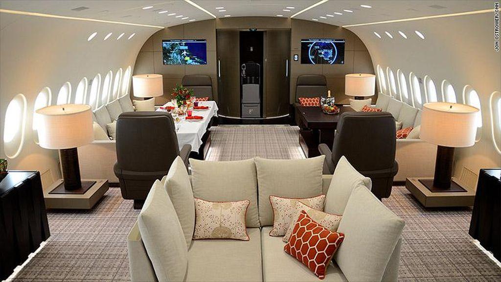 Mau Pakai Hotel Terbang Mewah Ini? Siapkan Rp 900 Juta per Jam