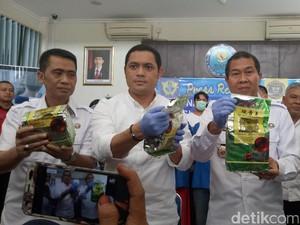 Bawa Sabu 4 Kg dari Aceh, 4 Orang Ditangkap BNNP Sumsel