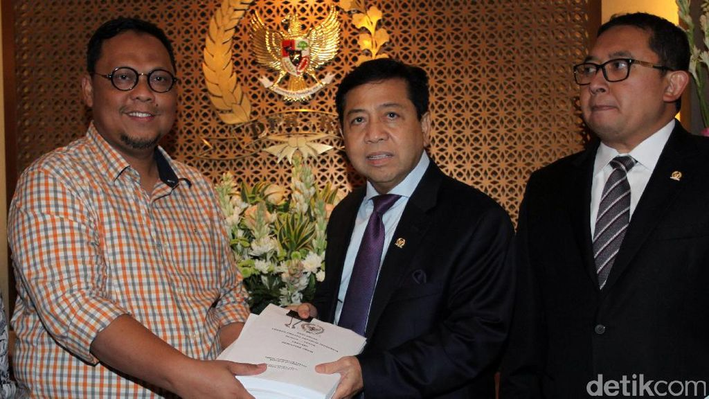 Pansus RUU Pemilu Serahkan Laporan ke Ketua DPR