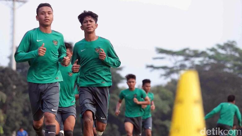Timnas U-19 Sedang Fokus Tingkatkan Kondisi Fisik