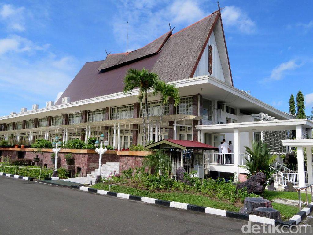 Mengintip Istana Isen Mulang Rancangan Sukarno