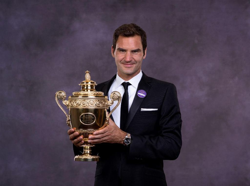 Federer Targetkan Jadi Nomor Satu Dunia Lagi