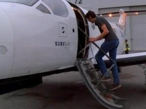 Pria Ini Berangkat Kerja Pakai Pesawat Tiap Hari