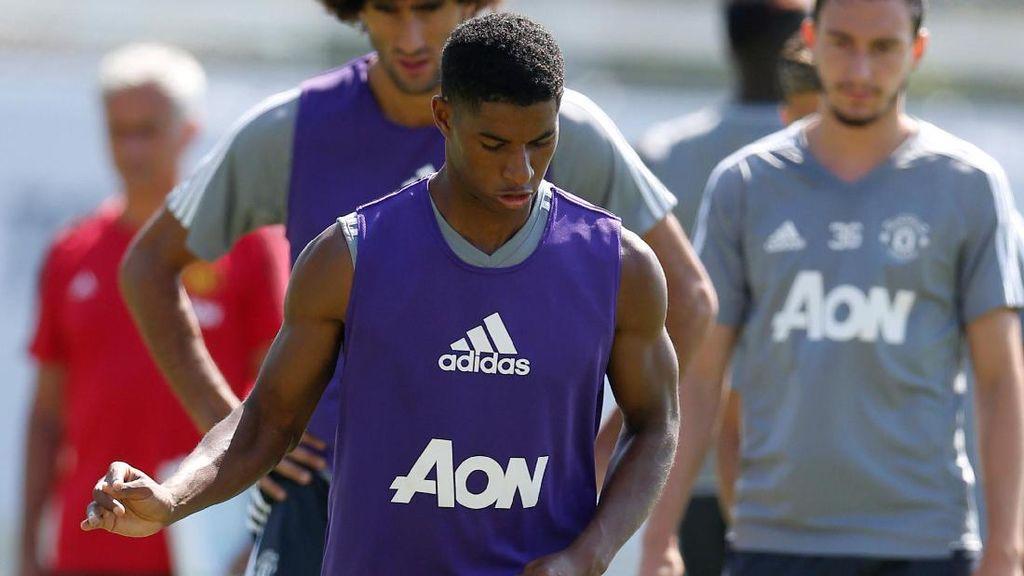 Rashford Petik Keuntungan Absen dari Timnas U-21 Saat Tur di LA