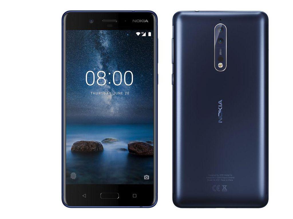 Nokia 8 Dipersenjatai Dua Kamera Zeiss