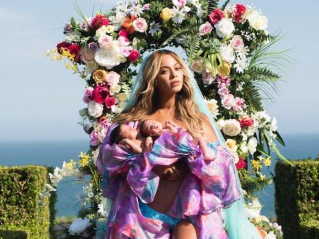 Beredar Akta Kelahiran Anak Kembar Beyonce