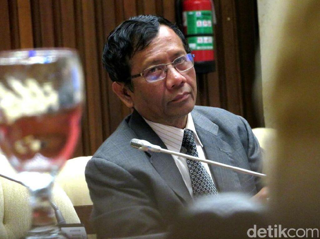 Mahfud MD Yakin Jokowi Tak Bisa Diprovokasi saat Pilih Cawapres